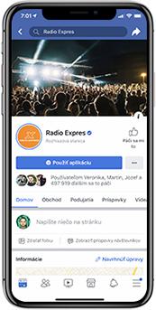Rádio Expres Facebook